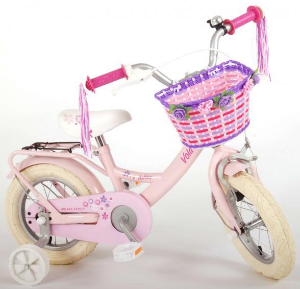 Volare Ashley Børnecykel - Piger - 12 tommer - Pink - 95% samlet