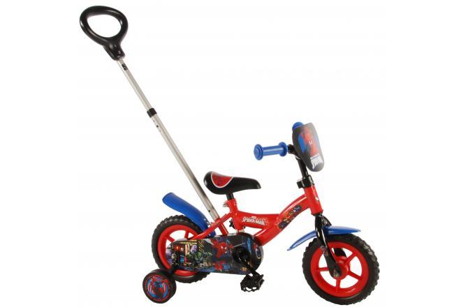 Spider-Man Børnecykel - Drenge - 10 tommer - Rød / blå