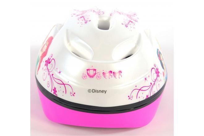 Disney Princess Cykelhjelm - hvid lyserød - 51-55 cm