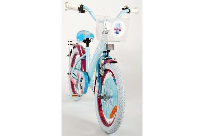 Disney Frozen 2 Børnecykel - Piger - 18 tommer - Blå / lilla - 95% samlet
