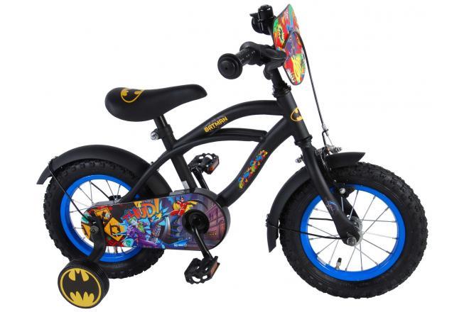Batman Børnecykel - Drenge - 12 tommer - Sort
