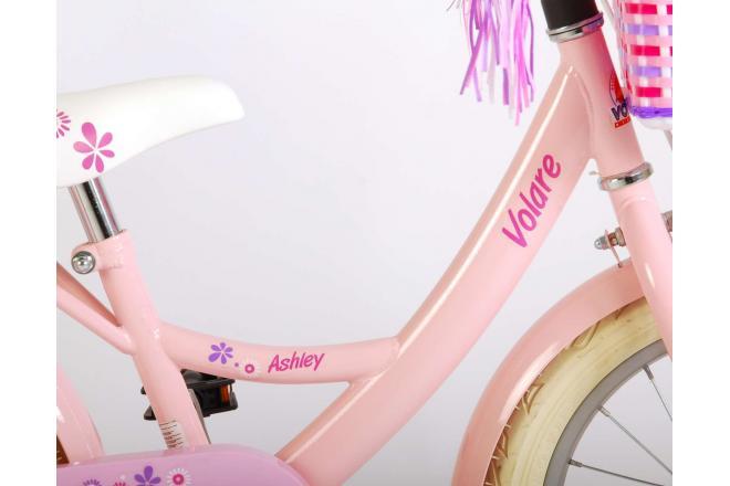 Volare Ashley Børnecykel - Piger - 16 tommer - Pink - 95% samlet
