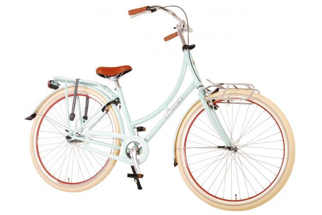 Volare Classic Oma Damecykel - 28 tommer - 51 centimeter - Matt Sølv