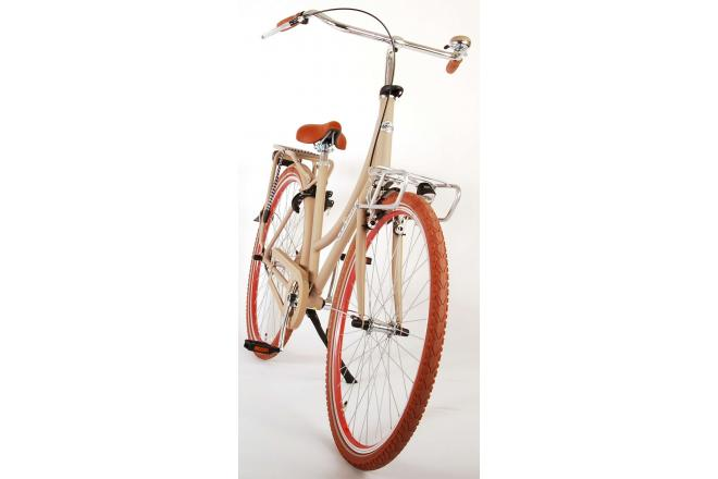 Volare Classic Oma Damecykel - 28 tommer - 45 centimeter - sand