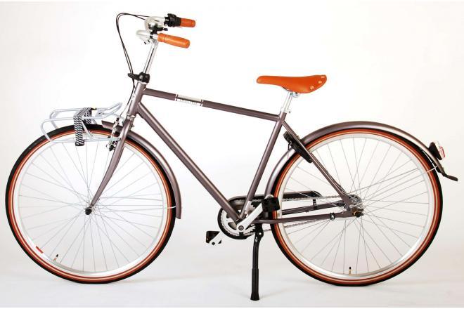 Volare Lifestyle Herrecykel - Herre - 51 centimeter - Grå - Shimano Nexus 3 gear